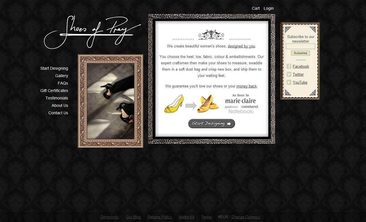 El caso de Blair Fowler y Shoes of Pray