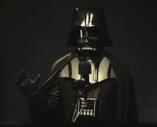 TomTom, Darth Vader, Take 1.