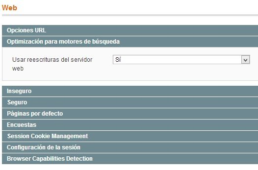 Magento Urls Amigables