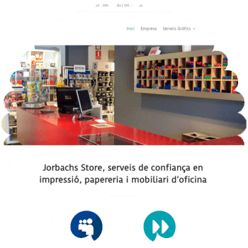 jorbachs-store-web-corporativa