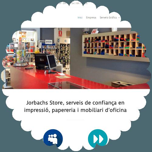 jorbachs store web corporativa