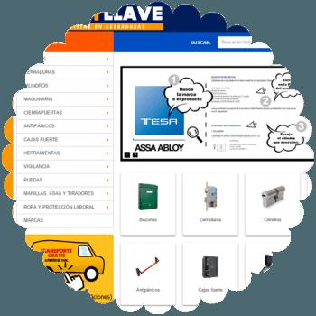 diseño tienda online golpeyllave