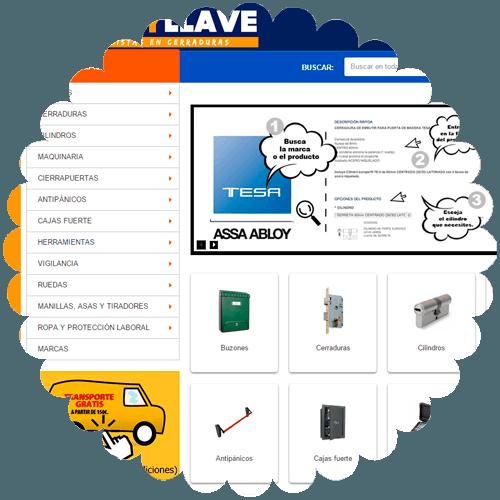E-commerce ferreteriagolpeyllave