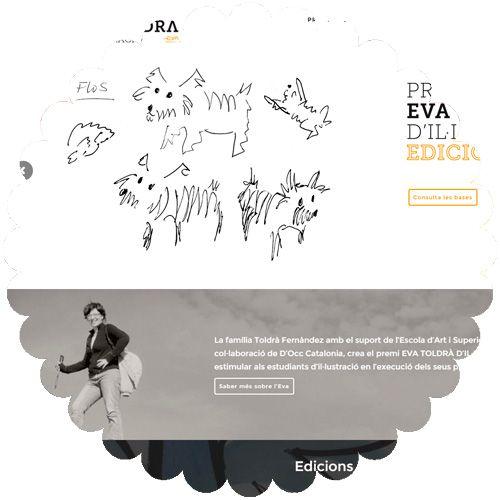 Proyecto Web concurso Eva Toldrà