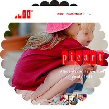 Web corporativa PicartPetcare.com
